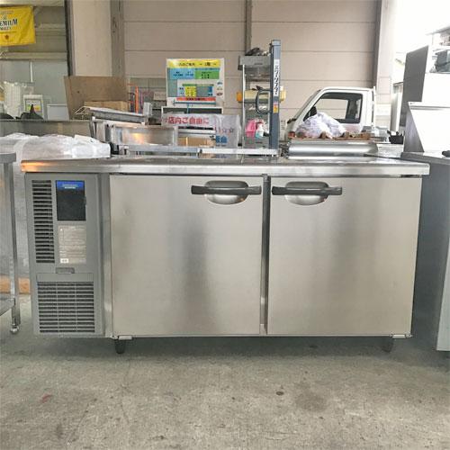 【中古】冷蔵コールドテーブル ホシザキ RT-150SNF-E 幅1500×奥行600×高さ800 【送料別途見積】【業務用】