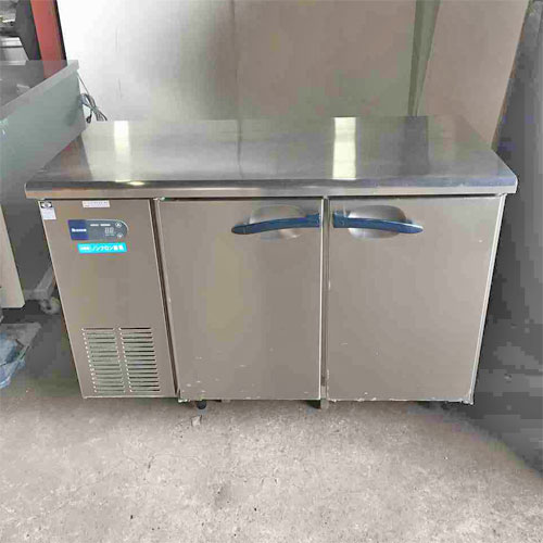 【中古】冷蔵コールドテーブル 大和冷機 4761CD-NP 幅1200×奥行600×高さ800 【送料別途見積】【業務用】