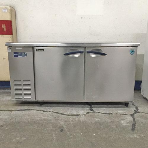 【中古】冷蔵コールドテーブル 大和冷機 5161CD-NP-EC 幅1500×奥行600×高さ785 【送料別途見積】【業務用】