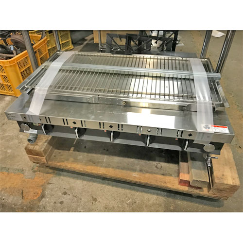 【中古】焼物器 建厨 S-5C 幅780×奥行500×高さ250 都市ガス 【送料無料】【業務用】