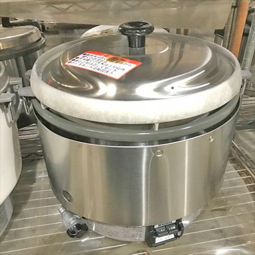 【中古】ガス炊飯器 リンナイ RR-30S2 幅46×奥行438×高さ424 都市ガス 【送料別途見積】【業務用】