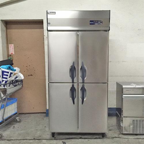 【中古】4ドア 冷凍庫 大和冷機 303YSS-EC 幅900×奥行650×高さ1900 三相200V 【送料別途見積】【業務用】