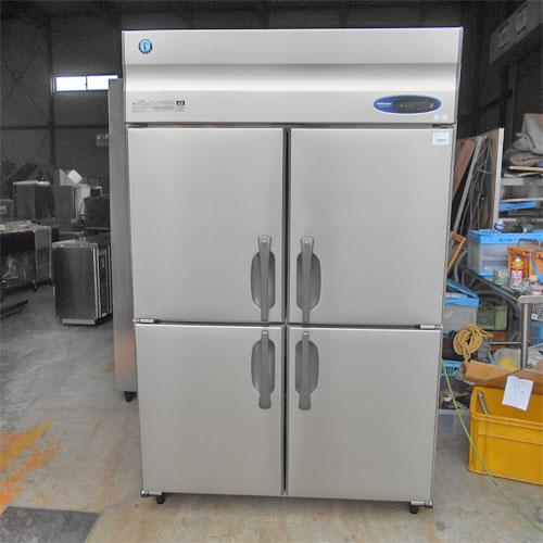 【中古】4ドア縦型冷蔵庫 ホシザキ HR-120Z-ML 幅1200×奥行800×高さ1890 【送料別途見積】【業務用】