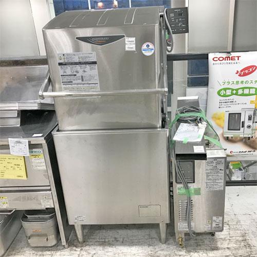 【中古】食器洗浄機ドアタイプ ホシザキ JWE-680A 幅640×奥行655×高さ1432 50Hz専用 LPG(プロパンガス) 【送料別途見積】【業務用】