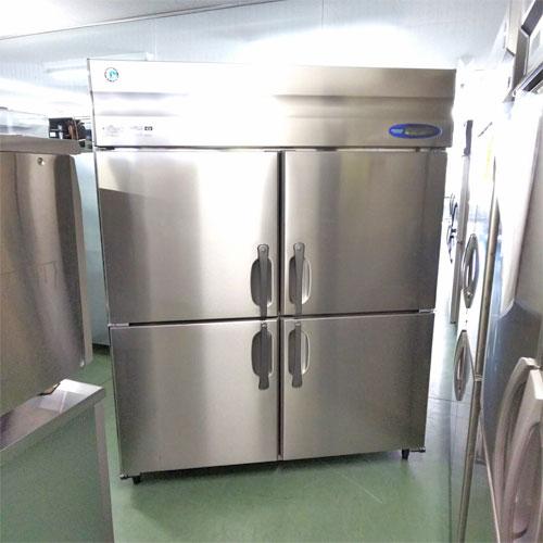 【中古】4ドア縦型冷凍庫 ホシザキ HF-150Z3-ML 幅1500×奥行800×高さ1890 三相200V 【送料別途見積】【業務用】