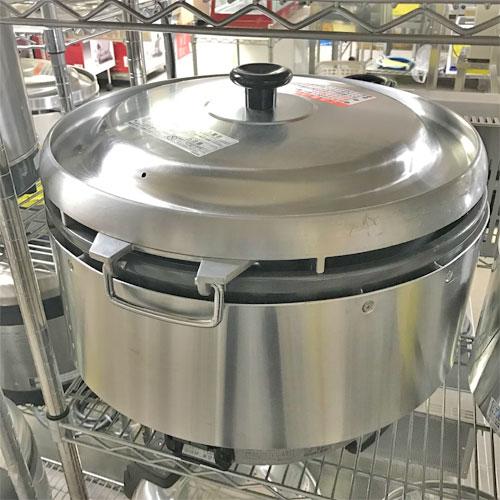 【中古】ガス炊飯器 リンナイ RR-50S2 幅543×奥行506×高さ442 都市ガス 【送料無料】【業務用】