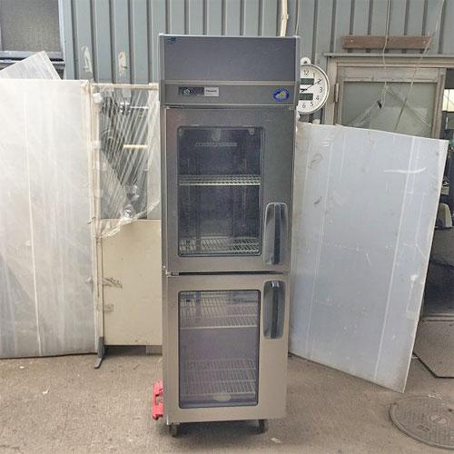 【中古】冷蔵庫 パナソニック(Panasonic) SRR-J661VLA 幅615×奥行650×高さ1950 【送料別途見積】【業務用】