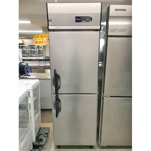 【中古】縦型冷凍庫 大和冷機 213NYSS-EC 幅600×奥行650×高さ1905 三相200V 【送料別途見積】【業務用】