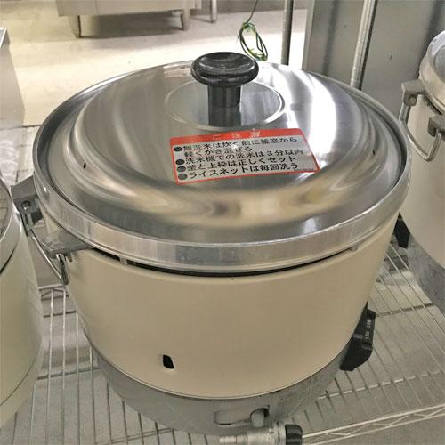 【中古】ガス炊飯器 リンナイ RR-30S1 幅450×奥行421×高さ407 LPG(プロパンガス) 【送料無料】【業務用】