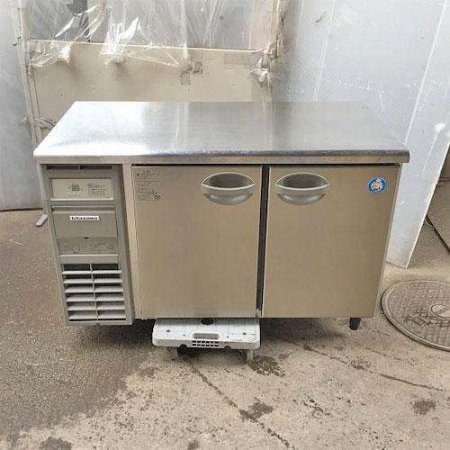 【中古】冷蔵コールドテーブル 北沢産業 KYRC-120RE2-F 幅1200×奥行600×高さ800 【送料無料】【業務用】