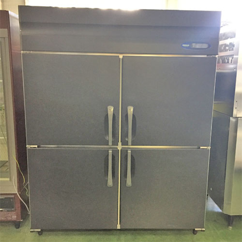 【中古】4ドア冷蔵庫 ホシザキ HR-150Z-ML 幅1500×奥行800×高さ1900 【送料別途見積】【業務用】
