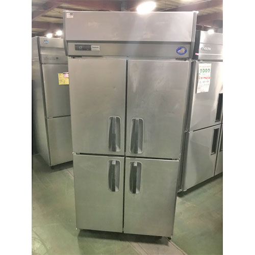 【中古】縦型冷蔵庫 パナソニック(Panasonic) SRR-J981VSA 幅900×奥行800×高さ1950 【送料別途見積】【業務用】