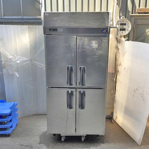 【中古】4ドア冷蔵庫 パナソニック(Panasonic) SRR-J981VSA 幅900×奥行800×高さ1920 【送料別途見積】【業務用】