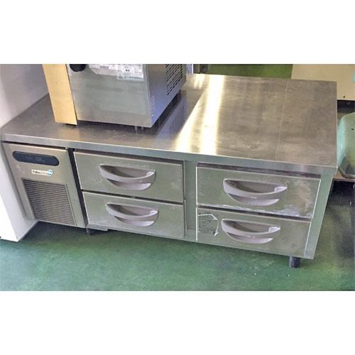 【中古】冷蔵ドロワーコールドテーブル フクシマガリレイ(福島工業) TBW-40RM3 幅1200×奥行745×高さ510 【送料別途見積】【業務用】