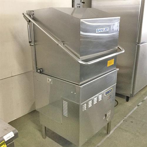 【中古】食器洗浄機 日本洗浄機 SD82EA3 幅600×奥行600×高さ1400 三相200V 60Hz専用 【送料別途見積】【業務用】