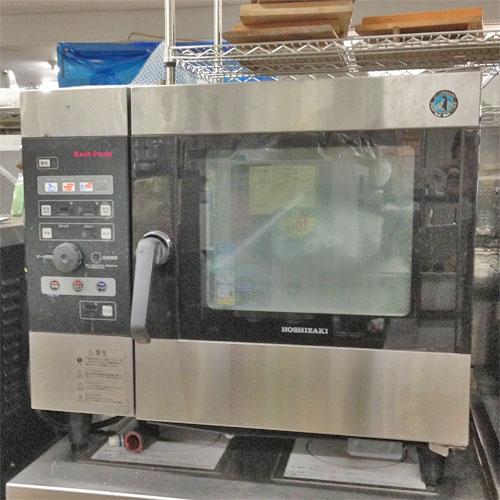【中古】スチームコンベクションオーブン ホシザキ MIC-5TB3 幅390×奥行415×高さ685 三相200V 【送料別途見積】【業務用】