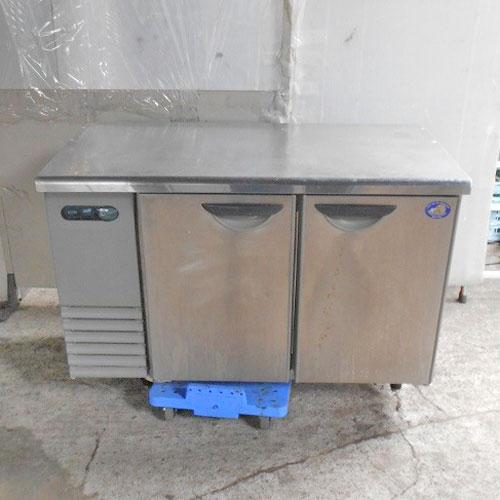【中古】冷蔵コールドテーブル サンヨー SUR-F1261SA-MS 幅1200×奥行600×高さ810 【送料別途見積】【業務用】