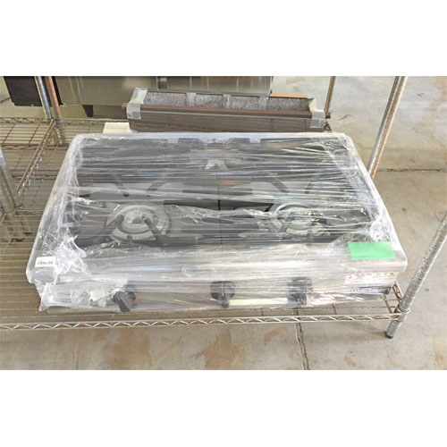 【中古】ガステーブル マルゼン RGC-096B 幅900×奥行600×高さ200 都市ガス 【送料別途見積】【業務用】