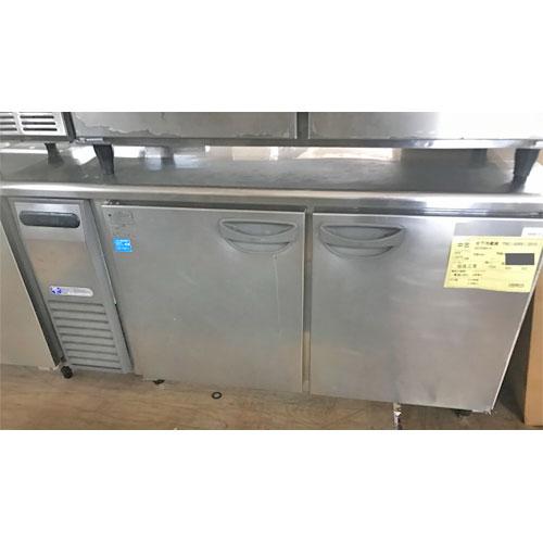 【中古】冷蔵コールドテーブル 福島工業(フクシマ) TRC-50RE1 幅1500×奥行600×高さ800 【送料別途見積】【業務用】