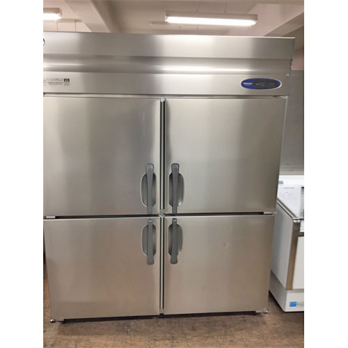 【中古】縦型冷蔵庫 ホシザキ HR-150Z3-ML-HM 幅1500×奥行800×高さ1900 三相200V 【送料別途見積】【業務用】