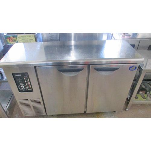 【中古】冷蔵コールドテーブル 三洋電機 SUC-1241J 幅1200×奥行450×高さ800 【送料無料】【業務用】