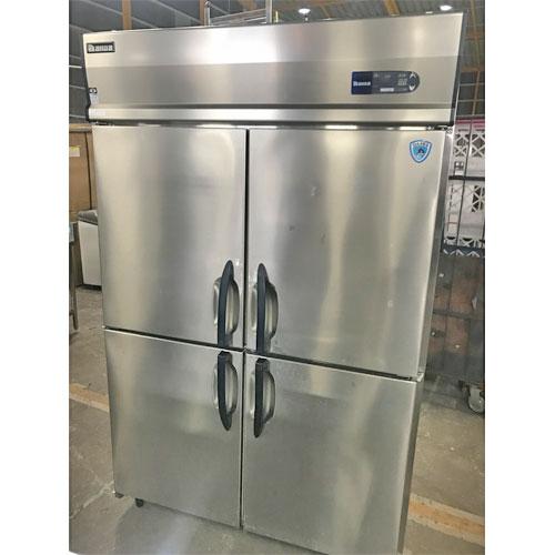 【中古】縦型冷蔵庫 大和冷機 413CD-NP-EC 幅1200×奥行800×高さ1905 三相200V 【送料別途見積】【業務用】
