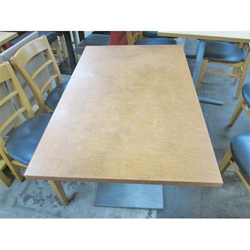 【中古】テーブル 幅1100×奥行700×高さ700 【送料無料】【業務用】