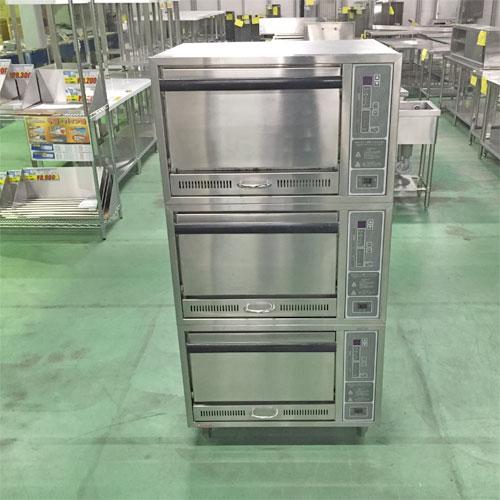 【中古】電気立体自動炊飯器 押切電気 ORCX-15N 幅730×奥行730×高さ1450 【送料無料】【業務用】