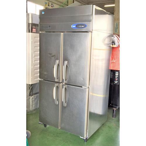 【中古】4ドア冷凍庫 ホシザキ HF-90Z3-ML 幅900×奥行800×高さ1890 三相200V 【送料別途見積】【業務用】