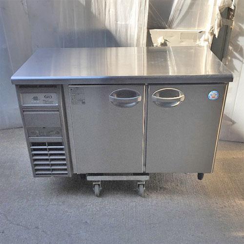 【中古】冷蔵コールドテーブル 福島工業(フクシマ) AYC-120RM 幅1200×奥行600×高さ800 【送料無料】【業務用】