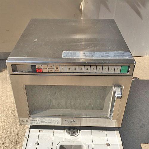 【中古】電子レンジ パナソニック(Panasonic) NE-1801 幅422×奥行476×高さ337 【送料別途見積】【業務用】