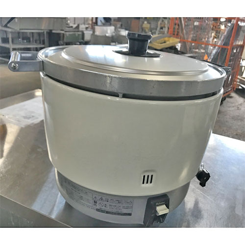 【中古】ガス炊飯器 パロマ PR-6DSS-1 幅513×奥行410×高さ407 LPG(プロパンガス) 【送料無料】【業務用】