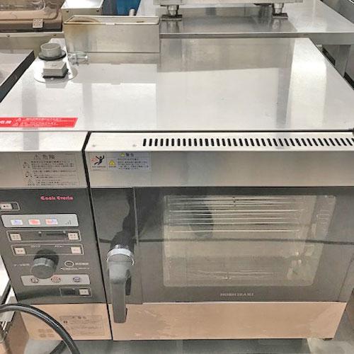 【中古】スチームコンベクションオーブン ホシザキ MIC-5TB-GA 幅750×奥行560×高さ685 都市ガス 【送料無料】【業務用】