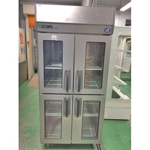 【中古】縦型冷蔵庫 パナソニック(Panasonic) SRR-J981VS 幅900×奥行800×高さ1950 【送料別途見積】【業務用】