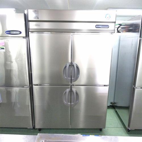 【中古】4ドア縦型冷蔵庫 福島工業(フクシマ) URD-120RM6 幅1200×奥行800×高さ1950 【送料別途見積】【業務用】