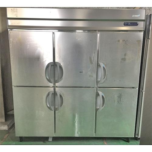 【中古】縦型冷凍冷蔵庫 フクシマガリレイ(福島工業) URD-182PE5 幅1800×奥行800×高さ1900 【送料別途見積】【業務用】