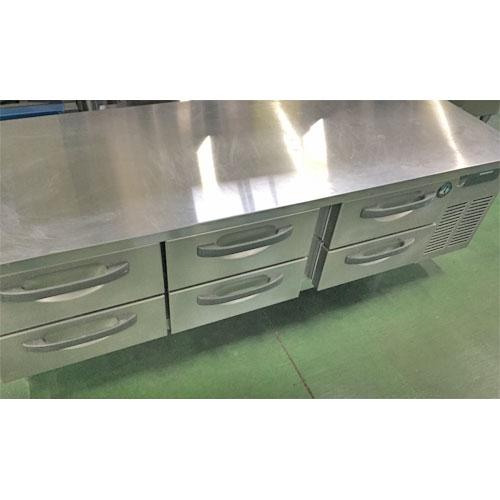 【中古】冷蔵ドロワーコールドテーブル ホシザキ RTL-165DNC-R 幅1800×奥行600×高さ550 【送料別途見積】【業務用】