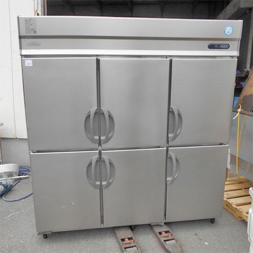【中古】6ドア縦型冷蔵庫 福島工業(フクシマ) ARN-180RM 幅1800×奥行650×高さ1930 【送料別途見積】【業務用】