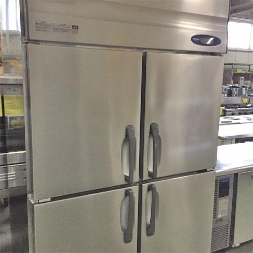 【中古】4ドア冷蔵庫 ホシザキ HR-120Z-ML 幅1200×奥行800×高さ1900 【送料別途見積】【業務用】