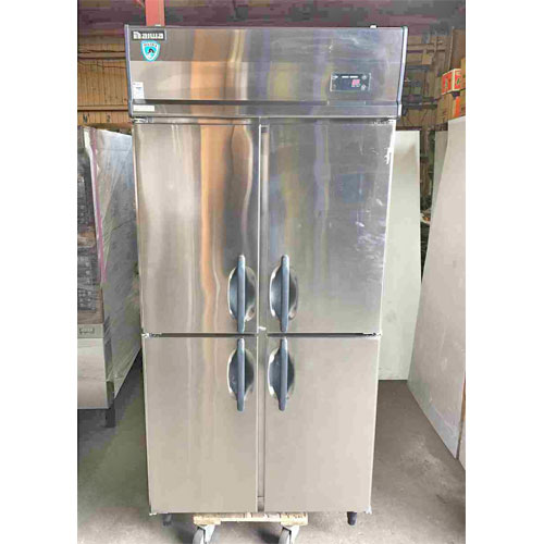 【中古】縦型冷蔵庫 大和冷機 301CD-EC 幅900×奥行800×高さ1900 【送料別途見積】【業務用】