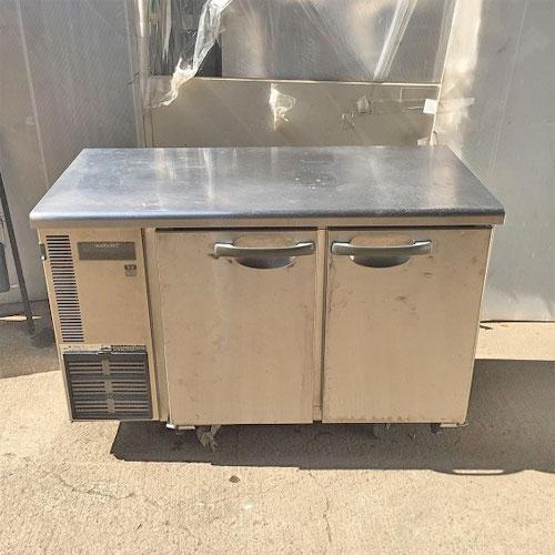 【中古】冷蔵コールドテーブル ホシザキ RT-120SNE 幅1200×奥行600×高さ800 【送料別途見積】【業務用】