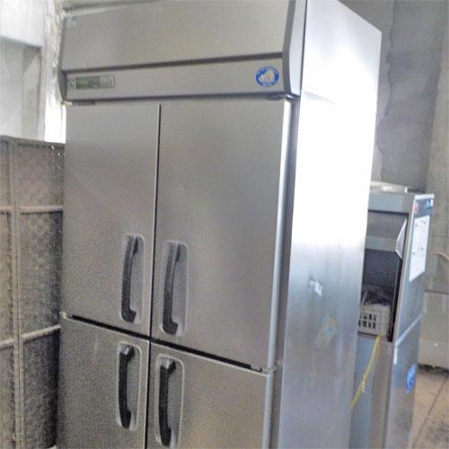 【中古】冷凍庫 三洋電機 SRF-J963VS 幅900×奥行650×高さ1900 三相200V 【送料別途見積】【業務用】