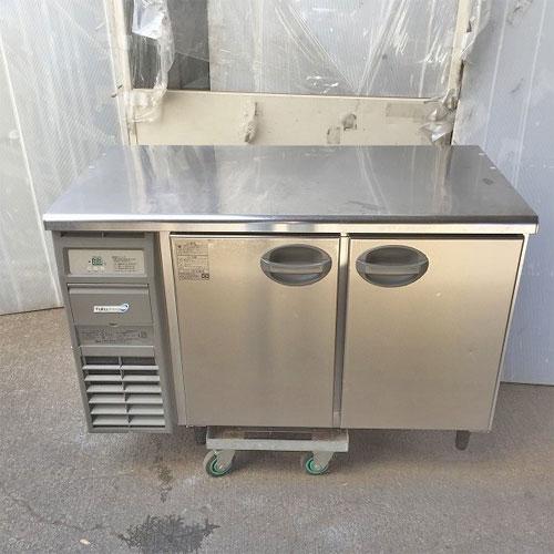 【中古】冷蔵コールドテーブル 福島工業(フクシマ) YRC-120RE 幅1200×奥行600×高さ800 【送料無料】【業務用】