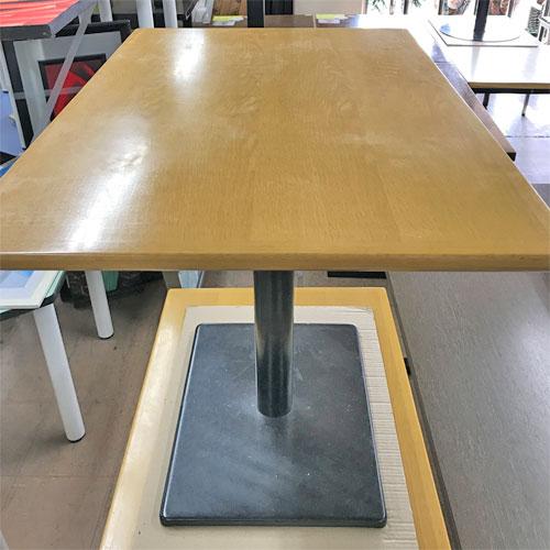 【中古】2人掛けテーブル 幅900×奥行600×高さ700 【送料無料】【業務用】