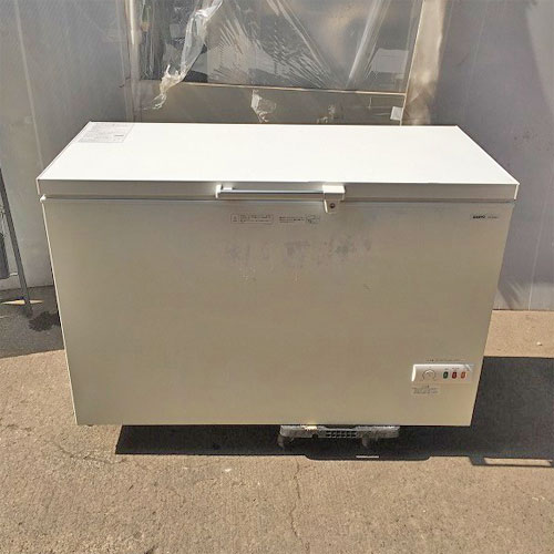 【中古】冷凍ストッカー サンヨー SCR-RH36V 幅1262×奥行695×高さ858 【送料別途見積】【業務用】