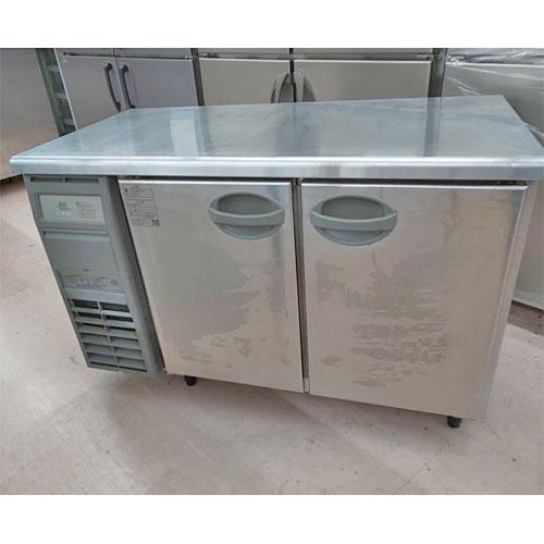 【中古】冷蔵コールドテーブル 福島工業(フクシマ) YRC-120RM2 幅1200×奥行600×高さ800 【送料無料】【業務用】