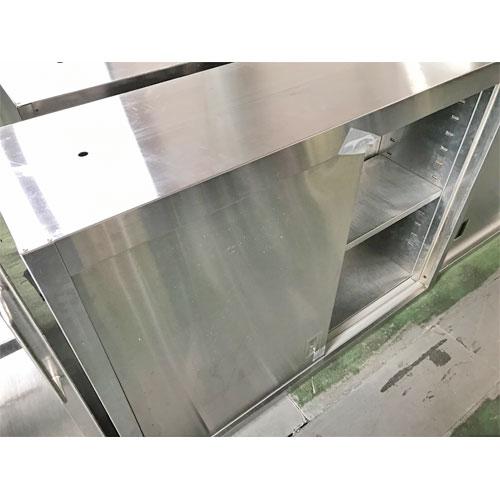 【中古】吊戸棚 幅1185×奥行350×高さ900 【送料別途見積】【業務用】