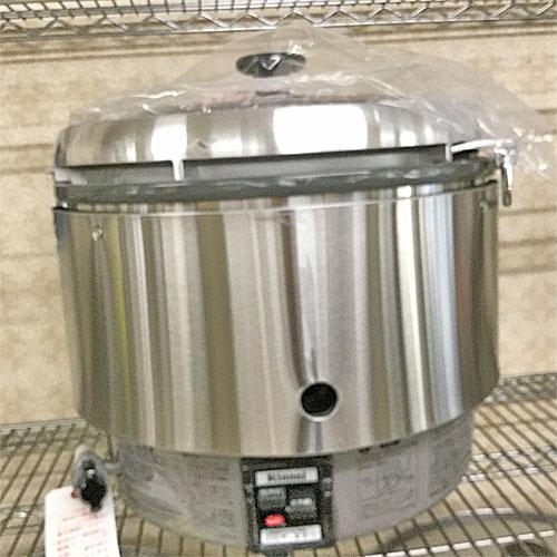 【中古】ガス炊飯器 リンナイ RR-30S2 幅466×奥行438×高さ424 都市ガス 【送料別途見積】【業務用】