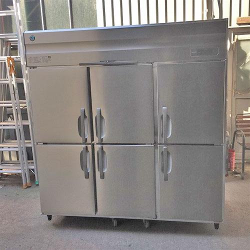 【中古】6ドア縦型冷凍庫 ホシザキ HF-180A3 幅1800×奥行800×高さ1900 三相200V 【送料別途見積】【業務用】
