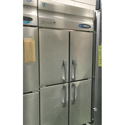 【中古】4ドア冷蔵庫 ホシザキ HR-90Z3 幅900×奥行800×高さ1890 三相200V 【送料別途見積】【業務用】